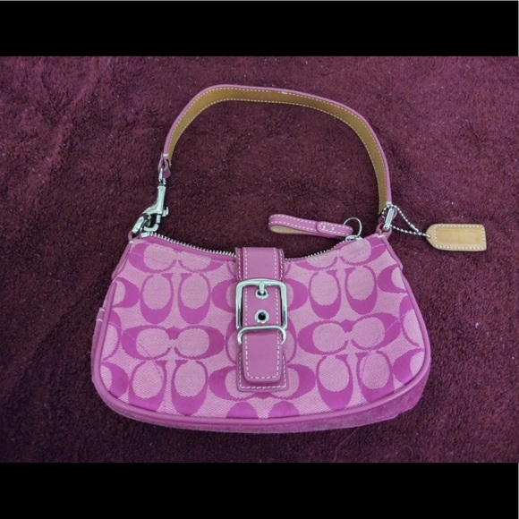 Coach Handbags - Hot Pink Coach purse